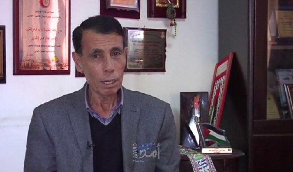 """مصادر لـ""""أمد"""": قوات الاحتلال تعتقل وزير القدس السابق """"حاتم عبد القادر"""""""