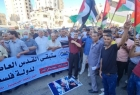 """مسيرات حاشدة """"غاضبة"""" في قطاع غزة رفضًا لـ""""مسيرة الأعلام"""" في القدس"""