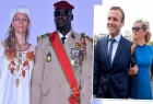 فيديو لماكرون برفقة زوجة رئيس غينيا يثير الجدل..واتهام روسيا بترويجه