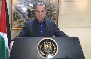 أبو ردينة: اعتداءات قوات الاحتلال بحق المصلين في الأقصى تحدٍ جديد للمجتمع الدولي