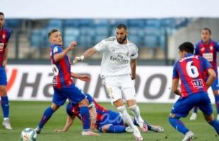 ريال مدريد يهزم ايبار بهدفين ويقتنص وصافة الليغا - فيديو