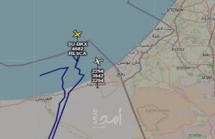 سلاح الجو المصري يُسير طائرتي استطلاع ومراقبة جنوب قطاع غزة