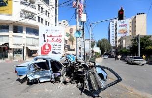 (3) إصابات في 11 حادث سير خلال 24 ساعة بالقطاع