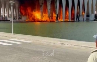 بالفيديو.. شاهد: لحظة اندلاع حريق القاعة الرئيسية لمهرجان الجونة السينمائي قبل انطلاقه بيوم